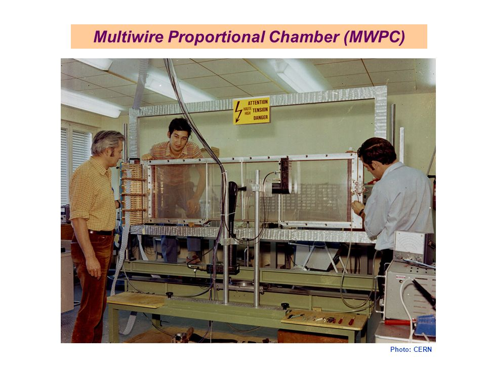 Multiwire Proportional Chamber (MWPC) Photo: CERN