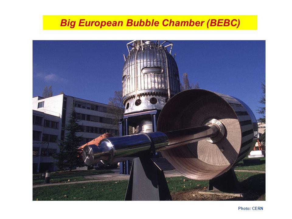 Big European Bubble Chamber (BEBC) Photo: CERN