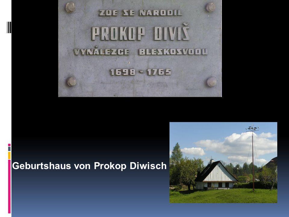 Geburtshaus von Prokop Diwisch