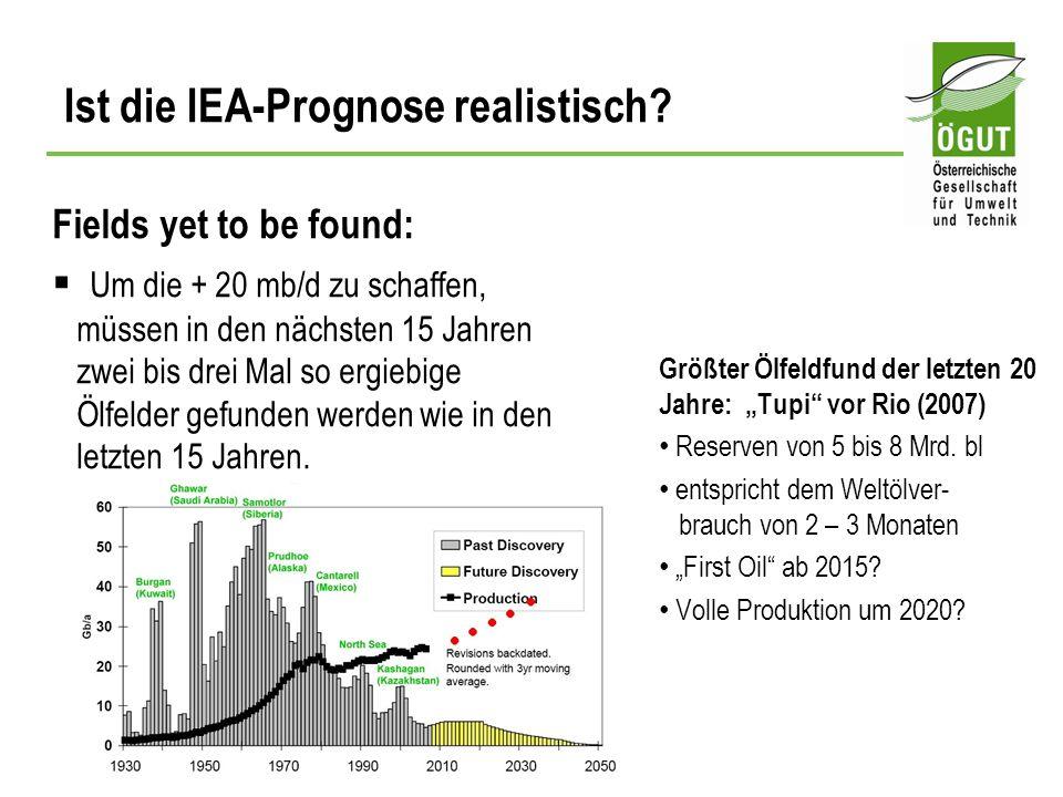 Fields yet to be found: Um die + 20 mb/d zu schaffen, müssen in den nächsten 15 Jahren zwei bis drei Mal so ergiebige Ölfelder gefunden werden wie in