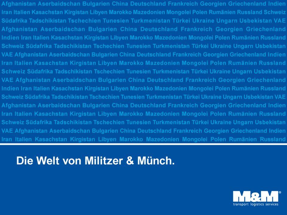 Seite: 22010 Militzer & Münch auf einen Blick M&M Militzer & Münch ist Teil der TransInvest Group mit Sitz in St.