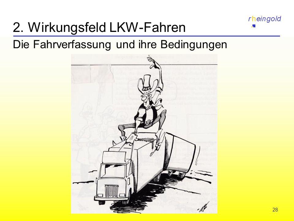 28 2. Wirkungsfeld LKW-Fahren Die Fahrverfassung und ihre Bedingungen