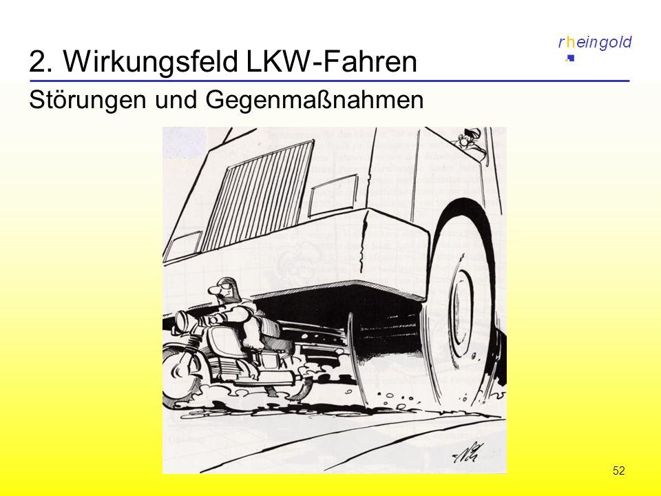 52 2. Wirkungsfeld LKW-Fahren Störungen und Gegenmaßnahmen