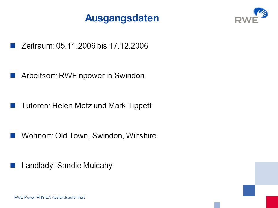 13 RWE-Power PHS-EA Auslandsaufenthalt