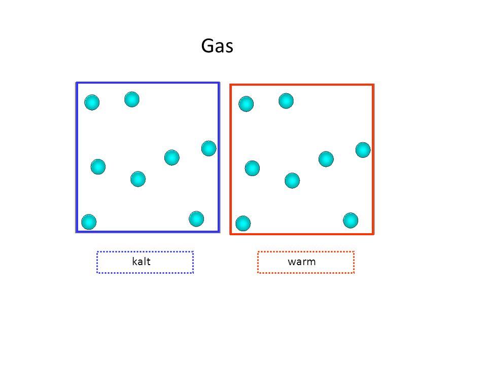 Gas kalt warm