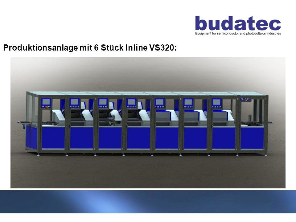 7 Stand 04-2013 Produktionsanlage mit 6 Stück Inline VS320: