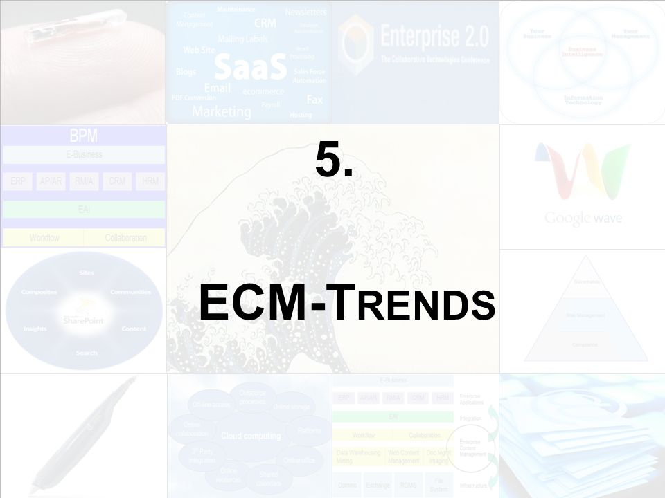 62 EIM Update und Trends 2010 Dr.Ulrich Kampffmeyer PROJECT CONSULT Unternehmensberatung Dr.