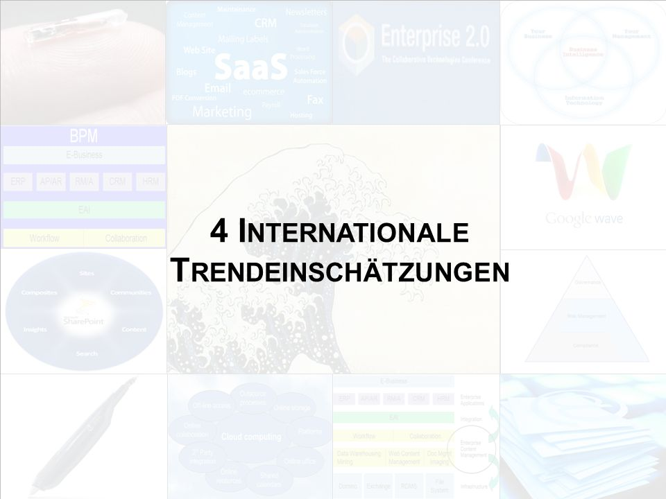 135 EIM Update und Trends 2010 Dr.Ulrich Kampffmeyer PROJECT CONSULT Unternehmensberatung Dr.