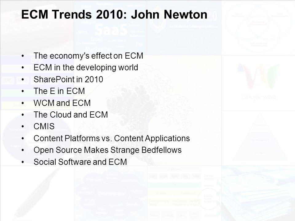 66 EIM Update und Trends 2010 Dr.Ulrich Kampffmeyer PROJECT CONSULT Unternehmensberatung Dr.