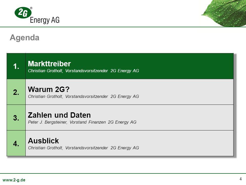 35 www.2-g.de Umsatzentwicklung nach Quartalen: 2010 / 2011 / 2012 Umsatz in Mio.