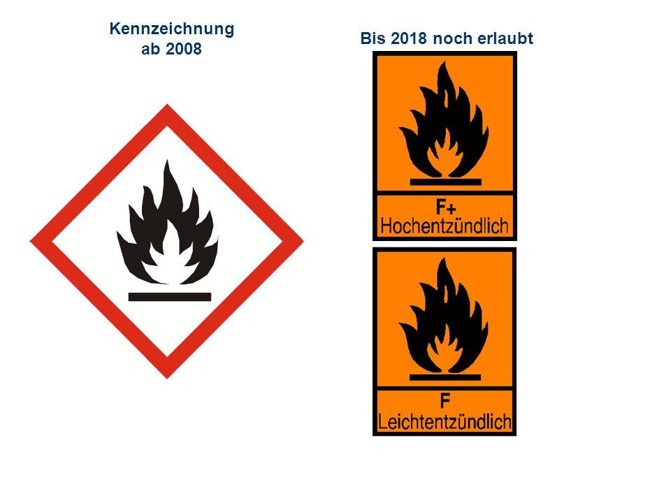 OBM Stefan Schiavulli www.ff-blofeld.de Ausbildung Feuerwehr Blofeld Folie 18 Kennzeichnung ab 2008 Bis 2018 noch erlaubt