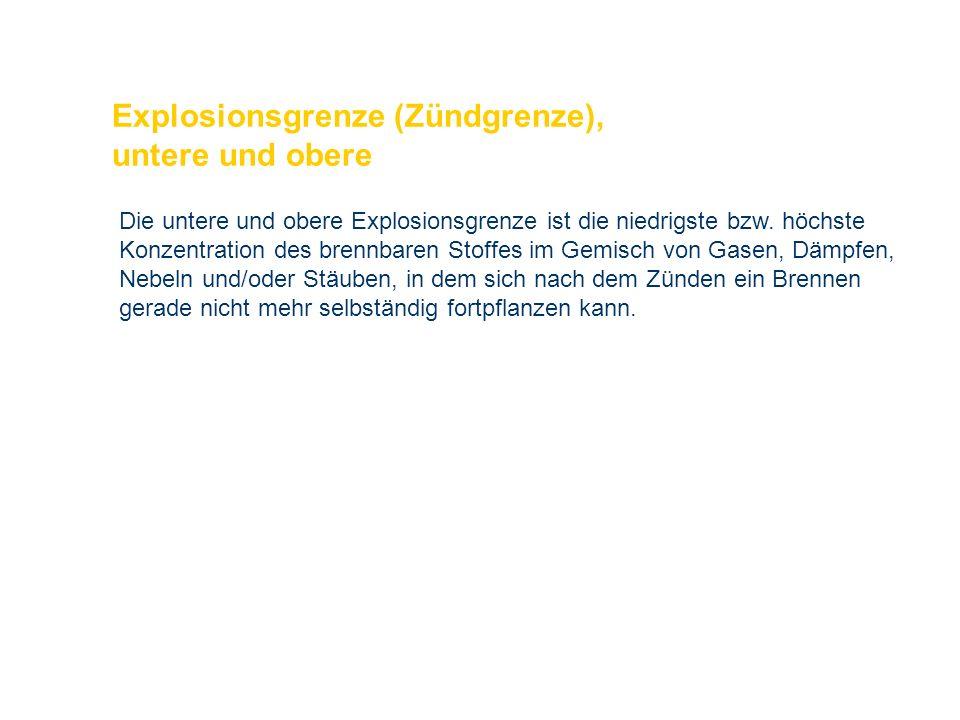 OBM Stefan Schiavulli www.ff-blofeld.de Ausbildung Feuerwehr Blofeld Folie 23 Explosionsgrenze (Zündgrenze), untere und obere Die untere und obere Exp