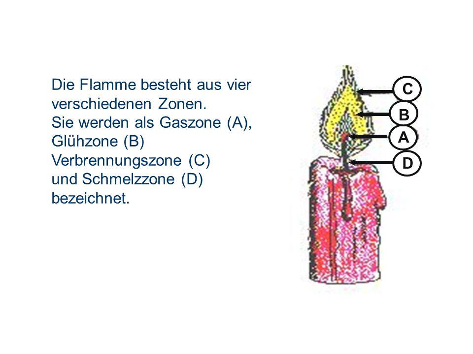 OBM Stefan Schiavulli www.ff-blofeld.de Ausbildung Feuerwehr Blofeld Folie 5 Die Flamme besteht aus vier verschiedenen Zonen. Sie werden als Gaszone (