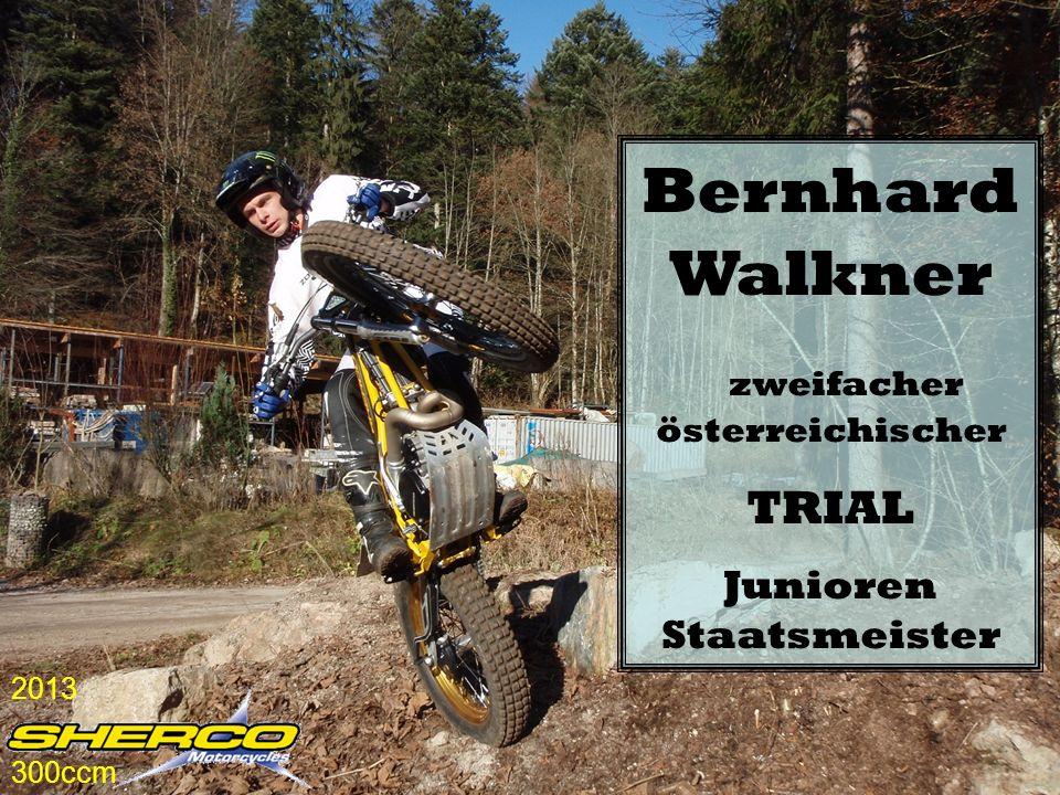 Bernhard Walkner zweifacher österreichischer TRIAL Junioren Staatsmeister 2013 300ccm