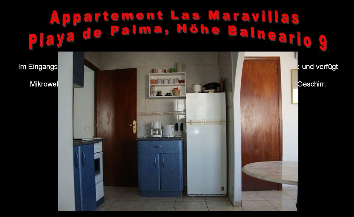 Das Appartement liegt in Las Maravillas, im Süden von Mallorca – in der Bucht von Palma de Mallorca – direkt an der Playa de Palma – einer der schönst