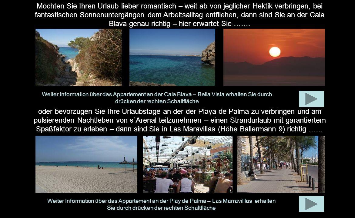 Wir heißen Sie herzlich willkommen auf Mallorca und freuen uns, dass Sie sich für eines unserer Ferienappartements interessieren. Auf den folgenden Se