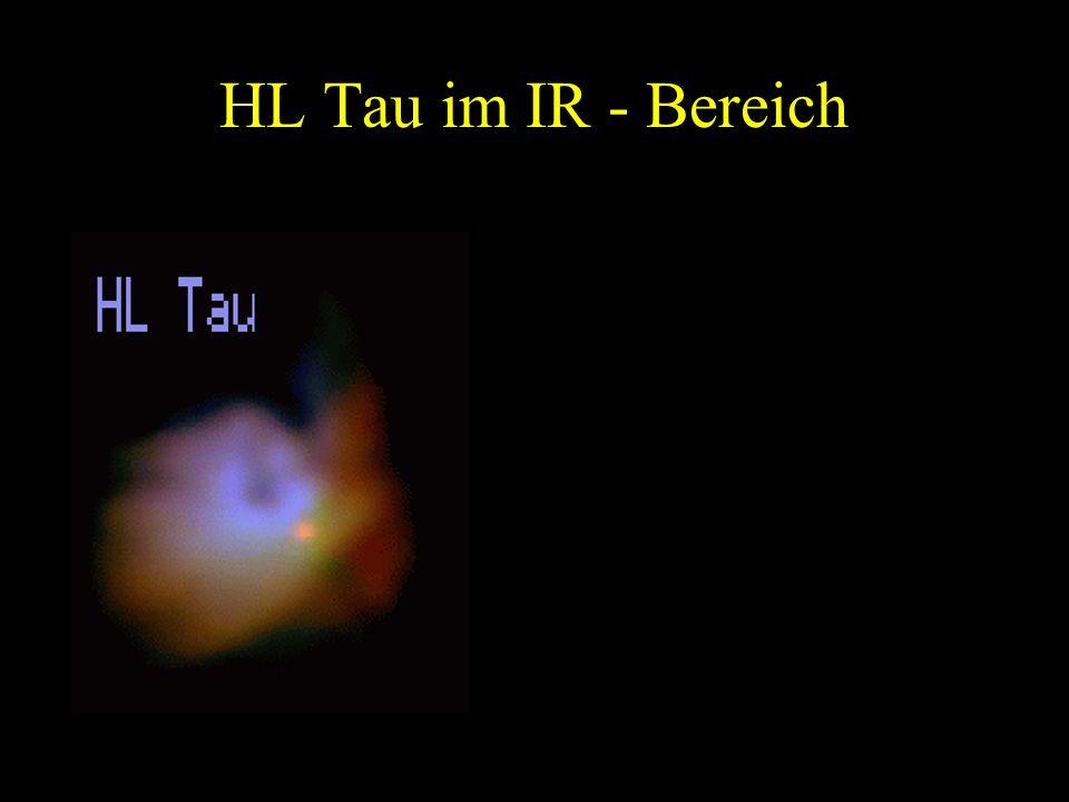 HL Tau im IR - Bereich