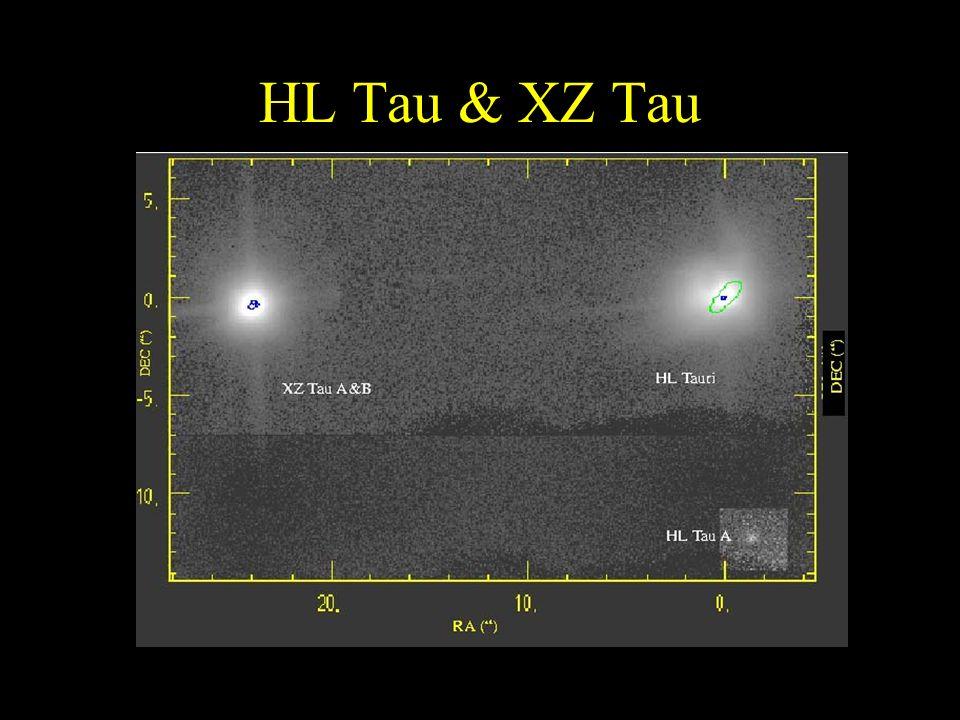 HL Tau & XZ Tau
