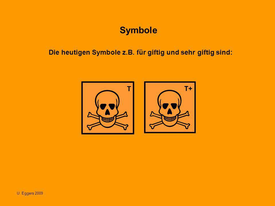 U.Eggers 2009 Symbole Die heutigen Symbole z.B.