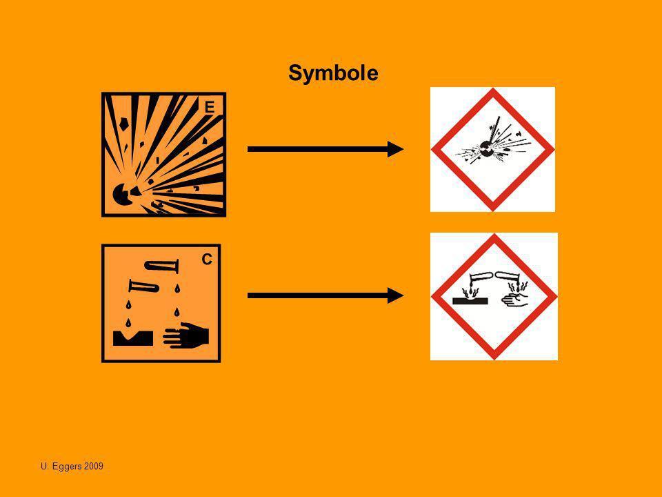 U.Eggers 2009 Die Symbole Gesundheitsschädlich und Reizend fallen ganz weg.