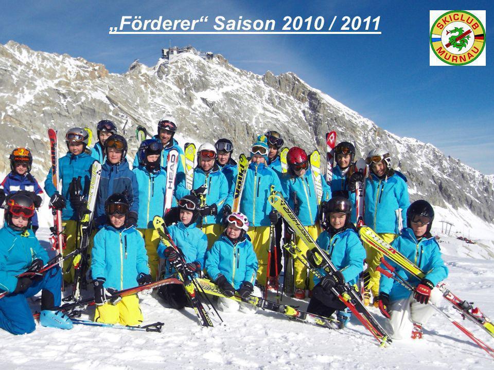 Förderer Saison 2010 / 2011