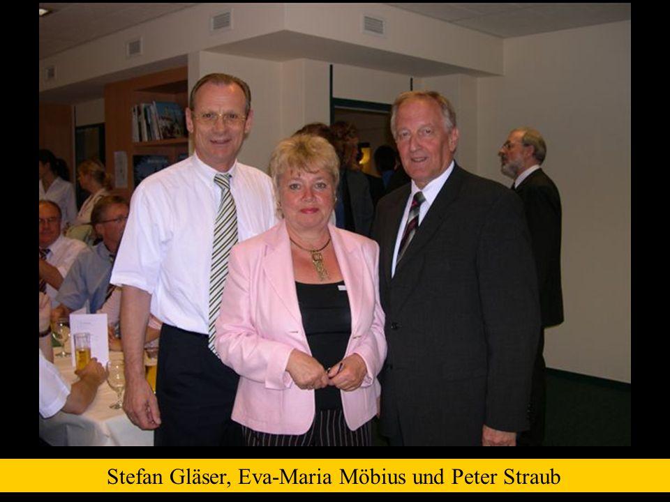 Stefan Gläser, Eva-Maria Möbius und Peter Straub