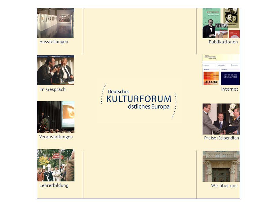 Das Deutsche Kulturforum östliches Europa wurde im Jahre 2000 auf Initiative des Bundesbeauftragten für Kultur und Medien gegründet und hat seinem Sitz im Kabinetthaus am Neuen Markt in Potsdam.