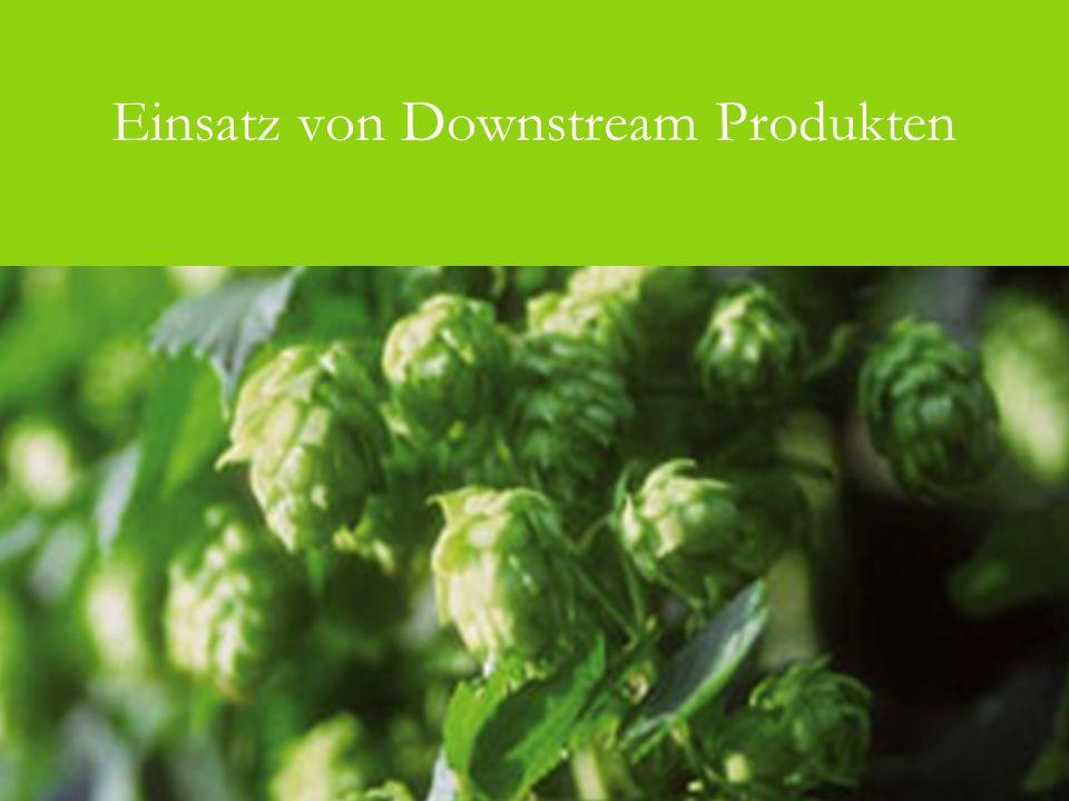 Einsatz von Downstream Produkten