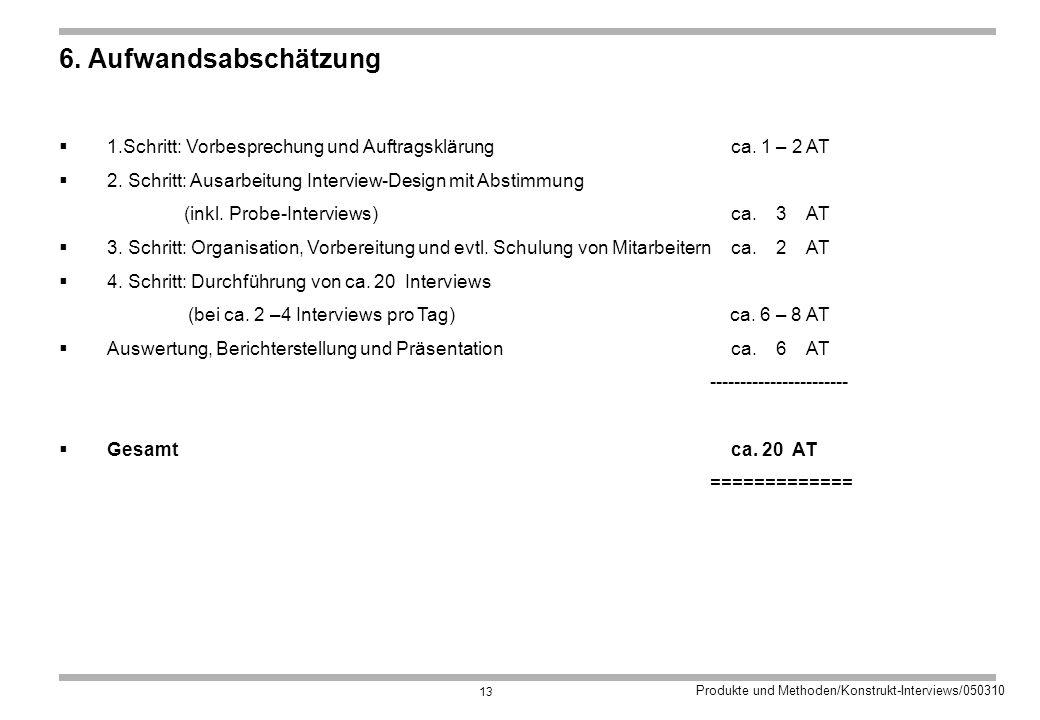 Produkte und Methoden/Konstrukt-Interviews/050310 13 6.