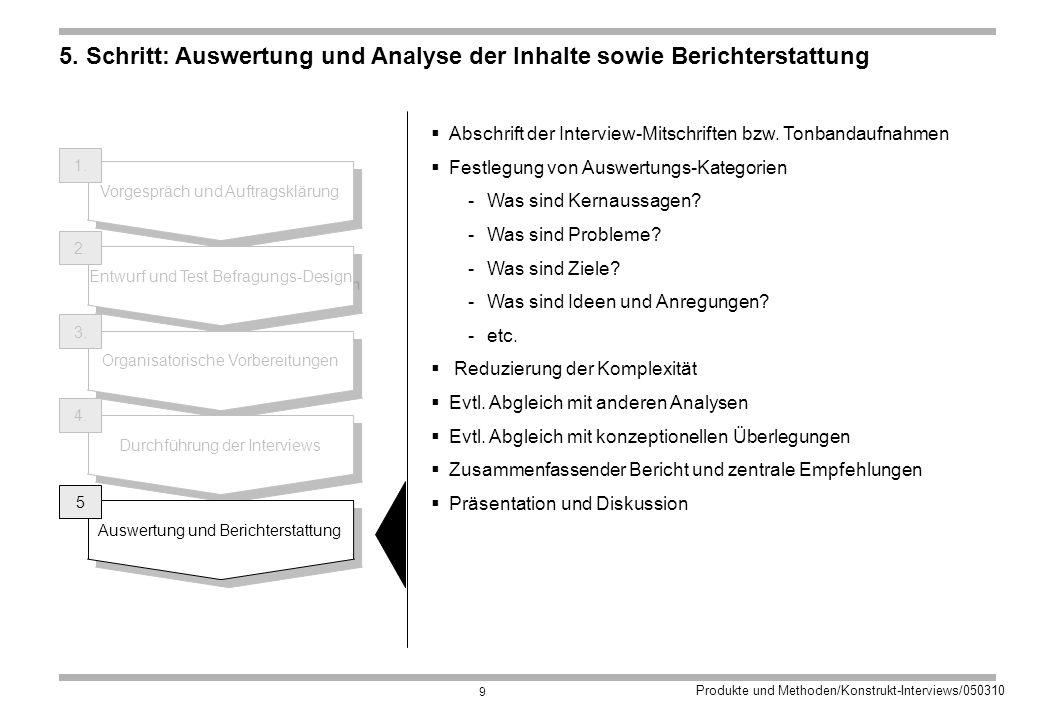 Produkte und Methoden/Konstrukt-Interviews/050310 9 5.
