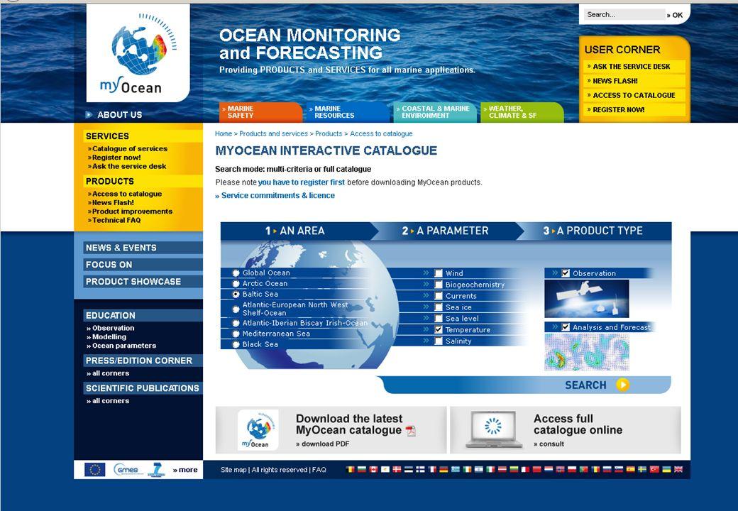 25.01.2012GMES-Regionalkonferenz - MyOcean, S. Dick 14