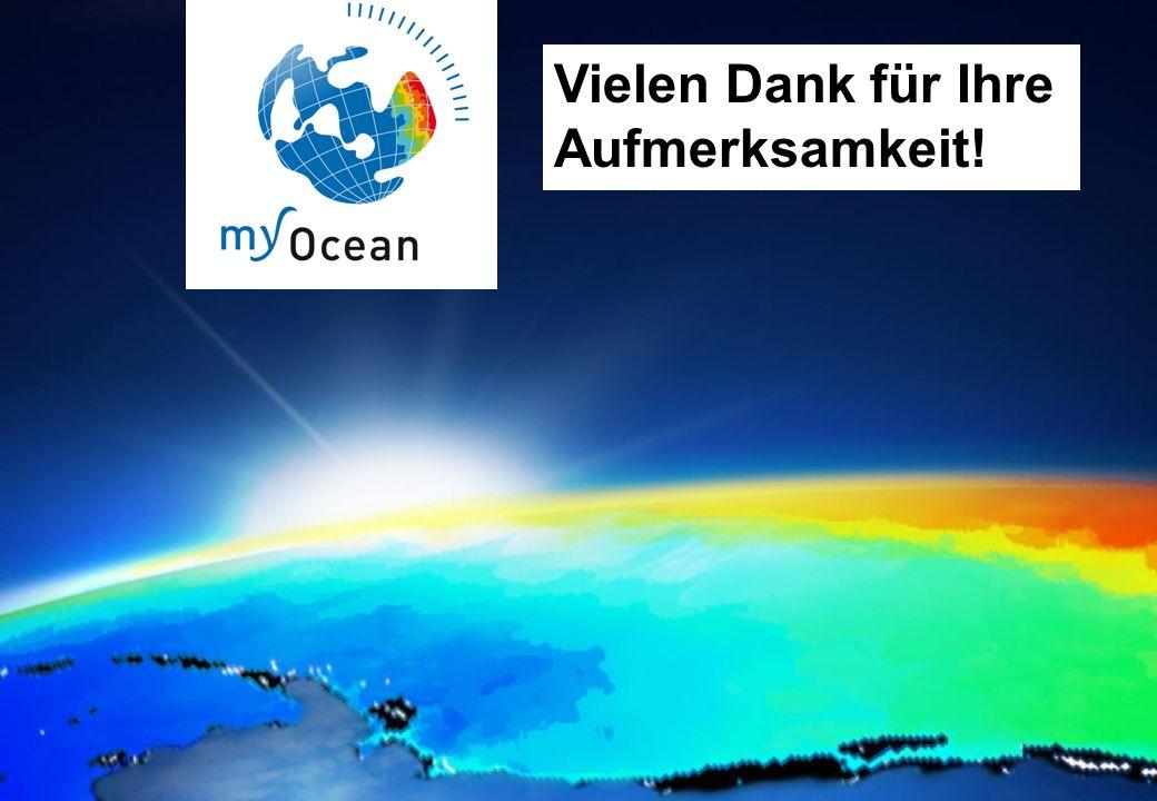 25.01.2012GMES-Regionalkonferenz - MyOcean, S. Dick 23 MyOcean - Produkte Vielen Dank für Ihre Aufmerksamkeit!