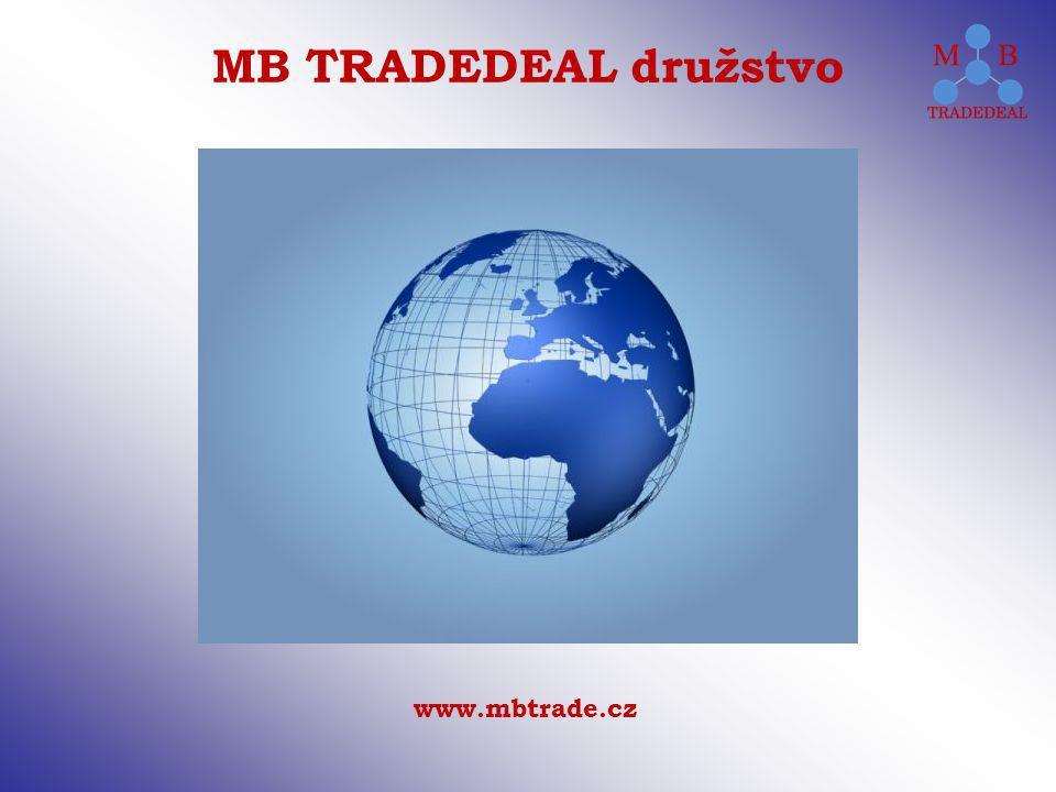 www.mbtrade.cz MB TRADEDEAL družstvo