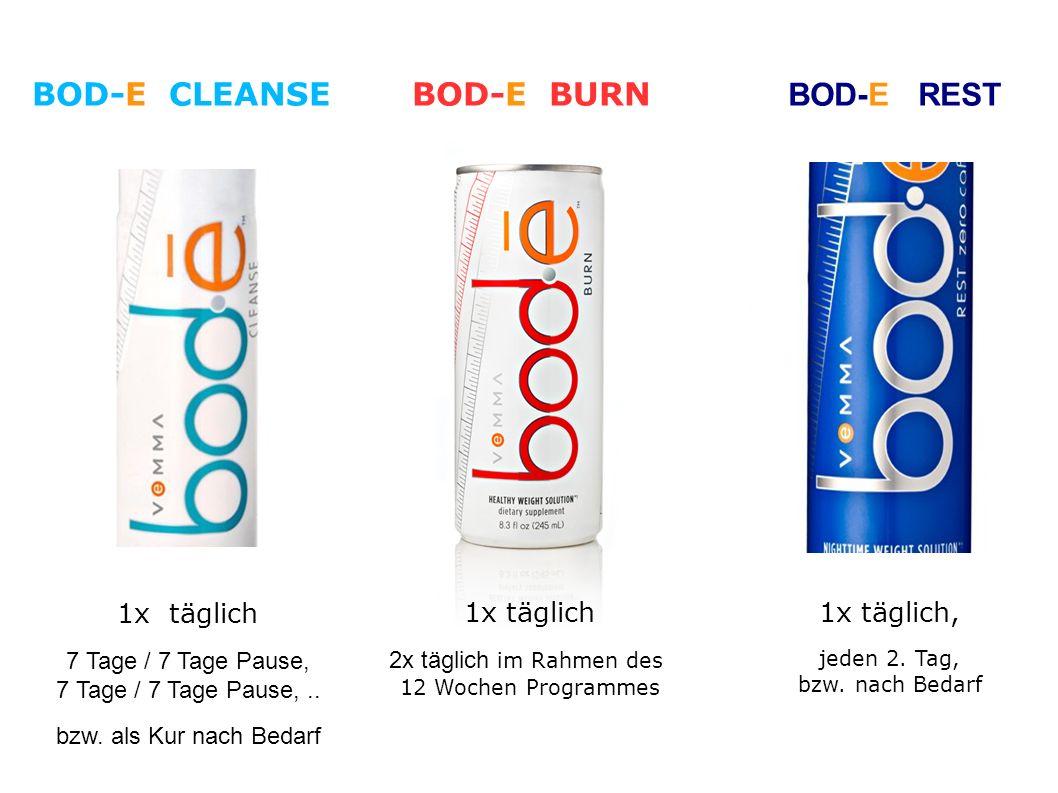 BOD-E REST 1x täglich 7 Tage / 7 Tage Pause, 7 Tage / 7 Tage Pause,..