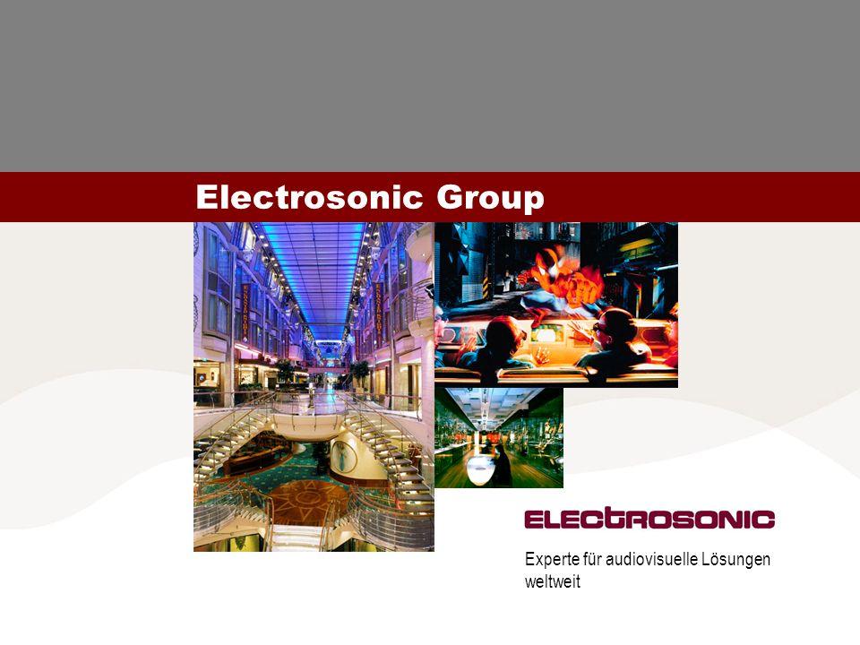Electrosonic Group Experte für audiovisuelle Lösungen weltweit