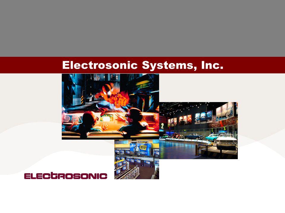 04.06.2004© Electrosonic Group5 Electrosonic Systems, Inc.