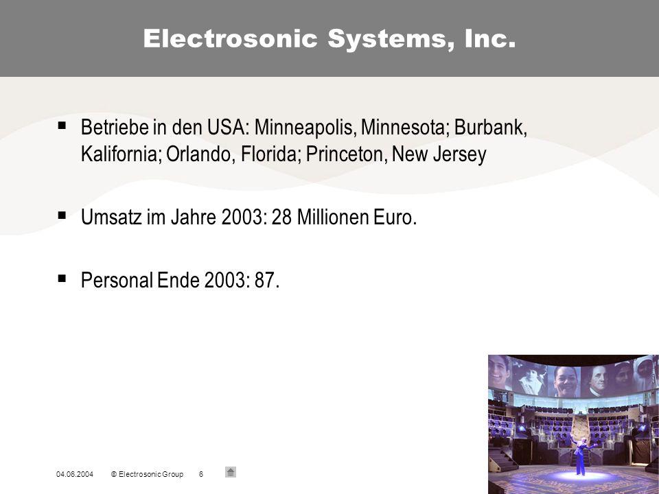 Electrosonic Limited