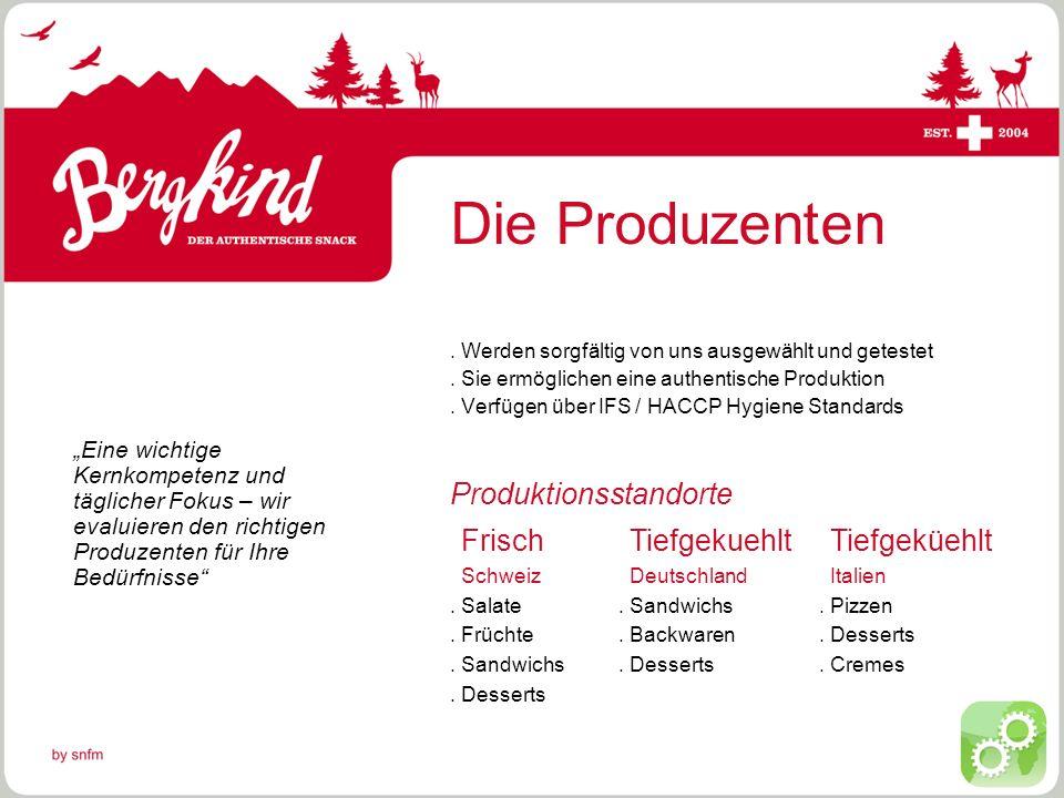 © by snfm Der Produktmix.Wir unterstützen bei der Erstellung eines Snackkonzeptes.