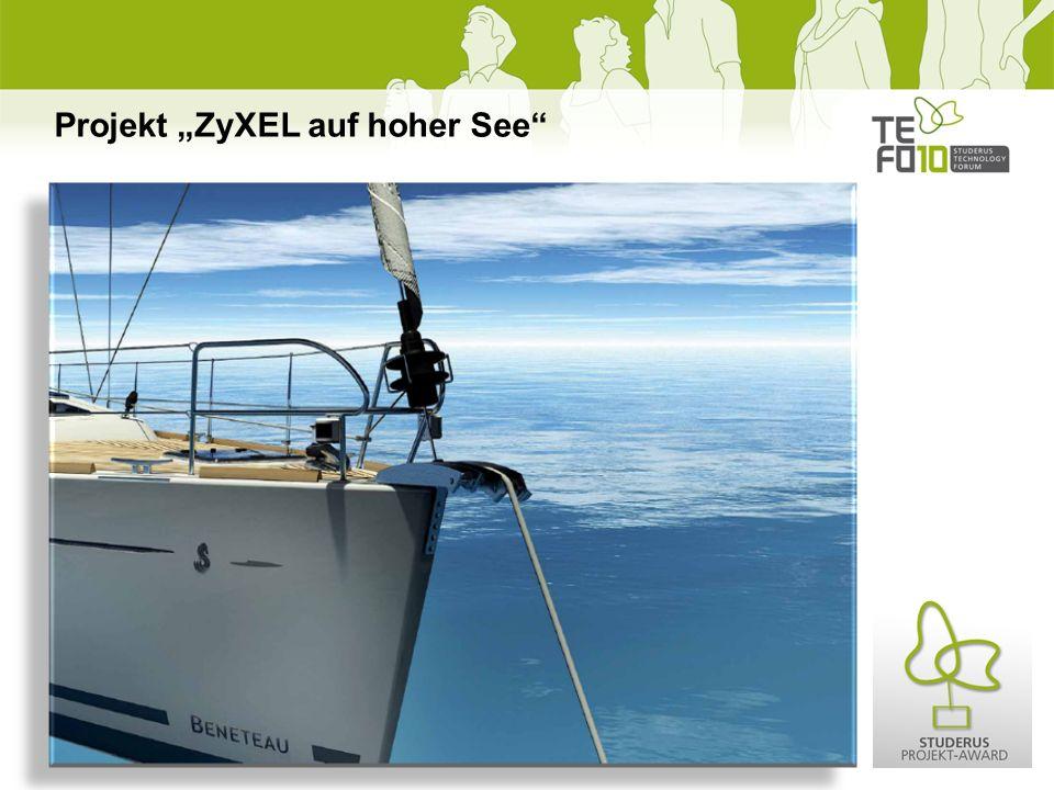 Projekt ZyXEL auf hoher See