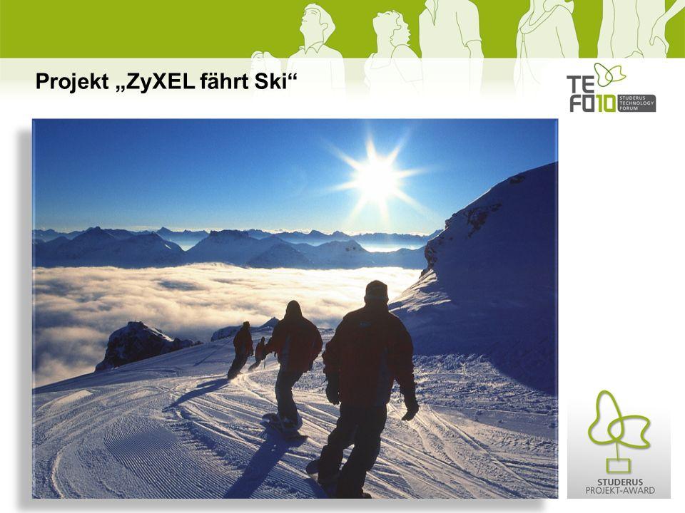 Projekt ZyXEL fährt Ski
