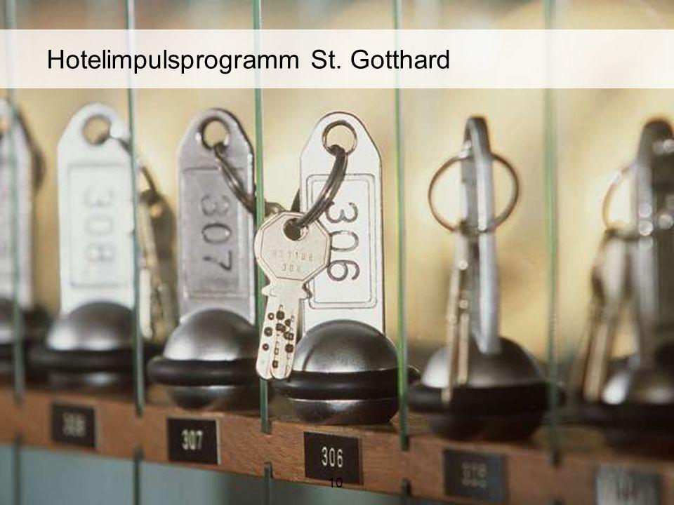 10 Hotelimpulsprogramm St. Gotthard