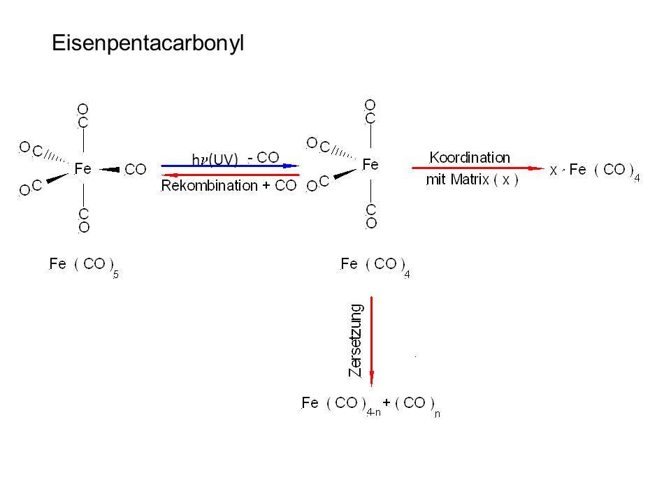 Eisenpentacarbonyl h (UV)