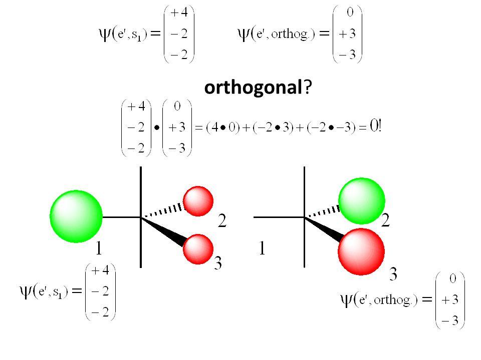 orthogonal?