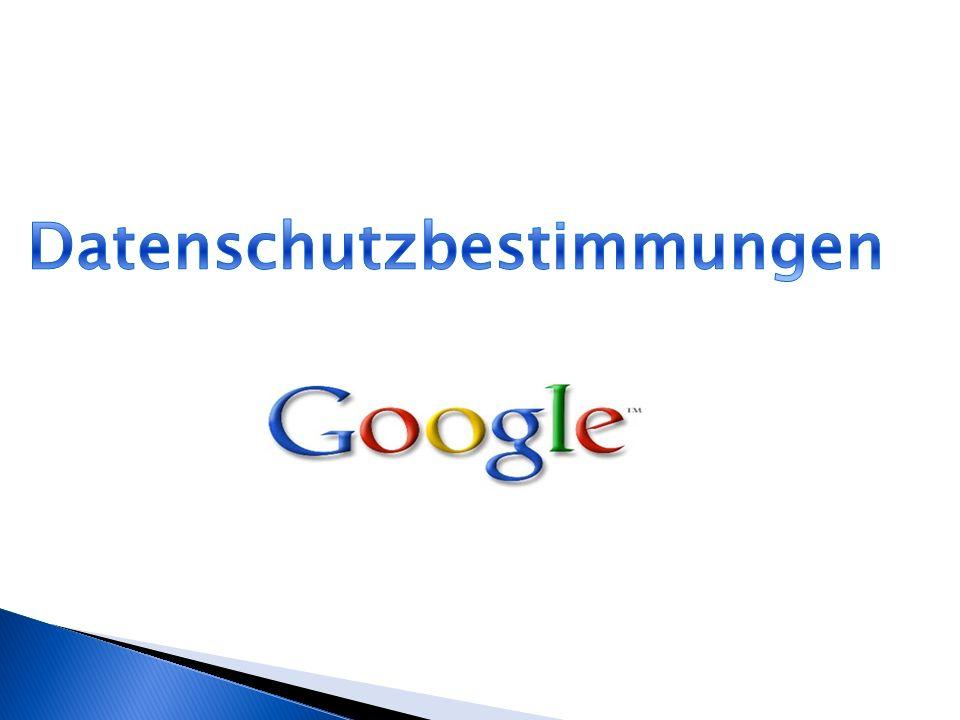 Google Datenschutzbestimmungen Kurzprofil Google Datenschutz-Center 5 Datenschutzprinzipien Was weiß Google über mich.