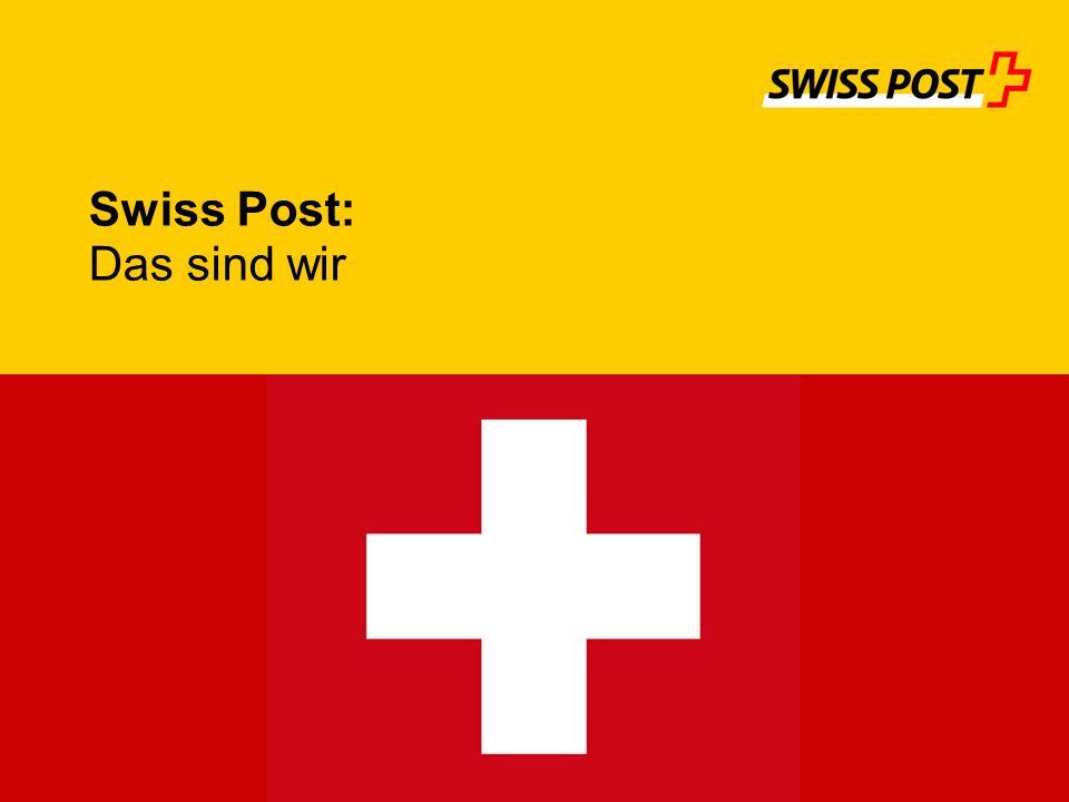 Swiss Post: Das sind wir