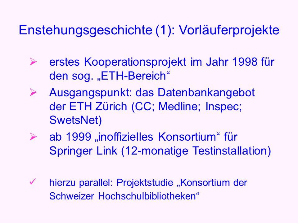 erstes Kooperationsprojekt im Jahr 1998 für den sog.