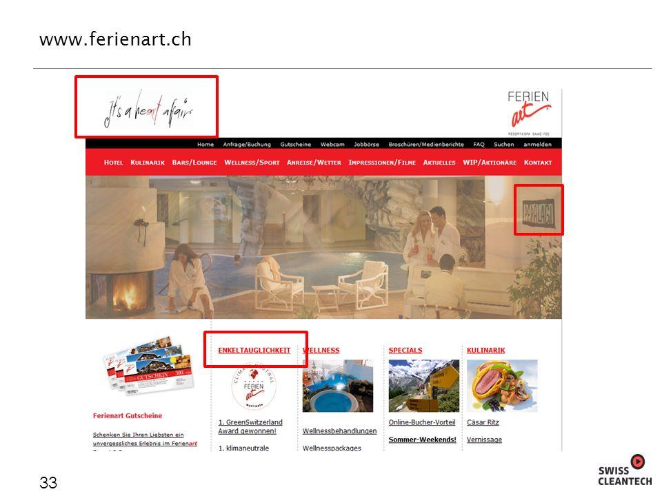 www.ferienart.ch 33
