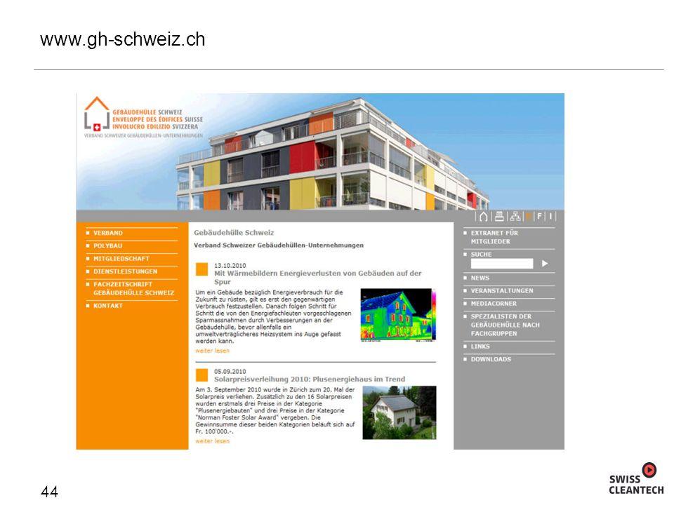www.gh-schweiz.ch 44