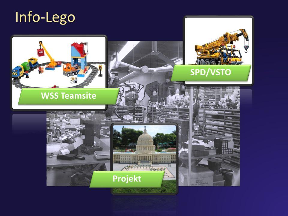 Info-Lego WSS Teamsite SPD/VSTO Projekt