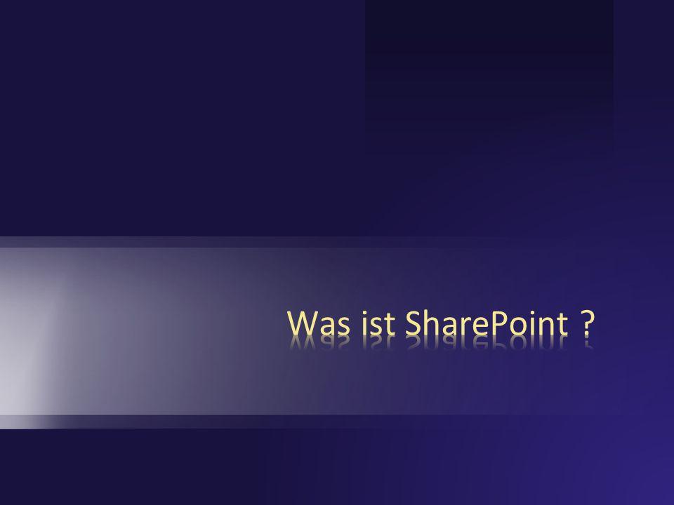 SharePoint Products and Technologies > 75 Millionen verkaufte Lizenzen SPS 2003 (Bill Gates, 15.5.2006) Eines der erfolgreichsten Server-Produkte von Microsoft Wie viele Lizenzen wurden von SPS 2003 verkauft ?